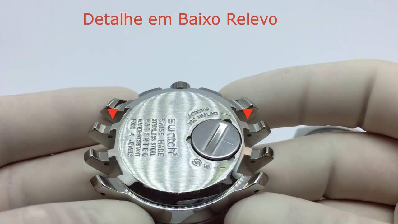 76d5823c1a6 Tipos de Encaixe Para Pulseiras de Relógios Swatch - YouTube