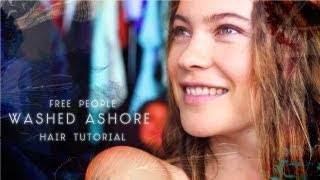 Washed Ashore Hair Tutorial From Free People(Learn how to get the hairstyles featured in our June E-book with Behati Prinsloo! Hairstylist Amy Farid demonstrates how to get the modern dread, how to perfect ..., 2013-05-30T12:30:31.000Z)