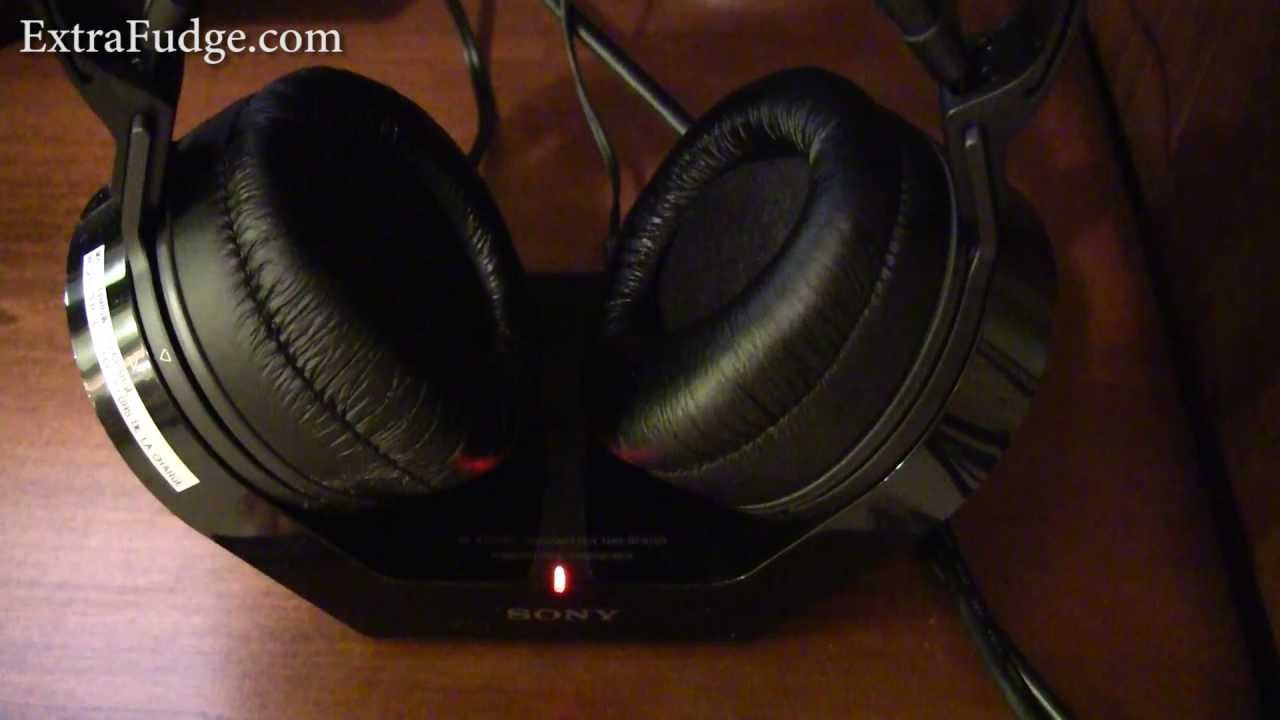 Sony Mdr-rf970rk Wireless Stereo Headphones Review