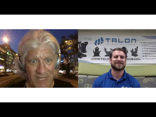 Ep 31: Bob Cooney's Virtual Reality Deep Dive - Brandon Naids of Talon Simulations