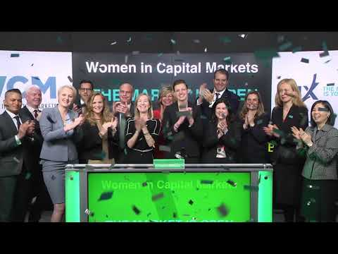 Women in Capital Markets opens Toronto Stock Exchange, April 19, 2018