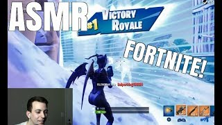 [ASMR] FORTNITE - BARELY Getting The Win! (Controller Sounds, Whispering)