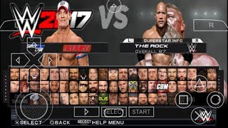 Cara Download Dan Install Game WWE 2K17 PPSSPP Android