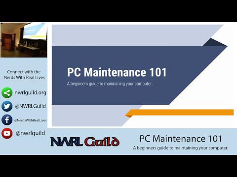 PC & Mac Maintenance Workshop