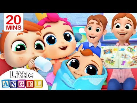 Family Baby Photos | Little Angel Kids Songs & Nursery Rhyme