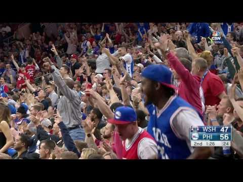 Washington Wizards vs Philadelphia 76ers | February 24, 2017 | NBA 2016-17 Season
