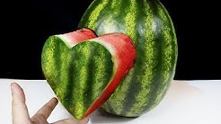 WATERMELON HEART - AWESOME WAY TO CUT