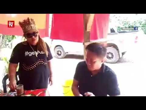 Loggers confront Siti Kasim in FB video