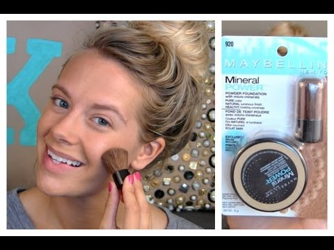 FIF: Maybelline Mineral powder foundation