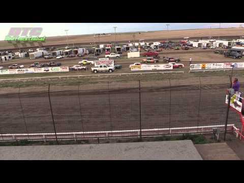 IMCA Hobby Stock Heats Wakeeney Speedway 5 26 14