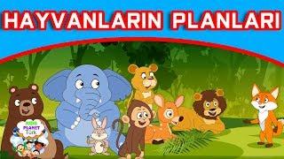 Hayvanların Planları  Masal Dinle Türkçe  Türkçe çocuk masalları izle 2019  Türkçe Peri Masallar
