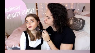 BOYFRIEND DOES MY MAKEUP + BOYFRIEND TAG