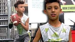 Chris Flores Jr. |  9 Yrs Old l Montebello Indians (CA) Youth Spotlight