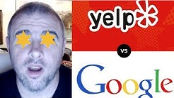 Yelp vs. Google Reviews - Who Does Filtering Better?