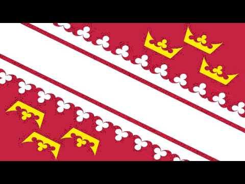 Bandera Secesionista del Regionalismo Alsaciano - Secessionist Flags of The  Alsatian Regionalism