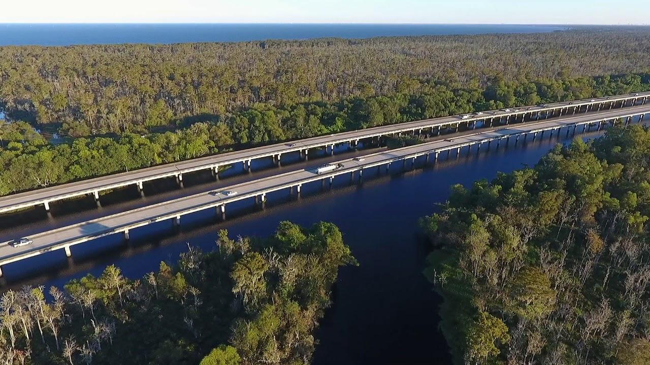 Manchac Bridge Drone Video - YouTube