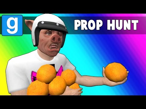 Thumbnail: Gmod Prop Hunt Funny Moments - Orange You Glad... (Garry's Mod)
