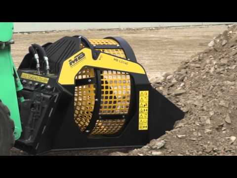 MB CRUSHER presents: Screening Bucket MB-LS140