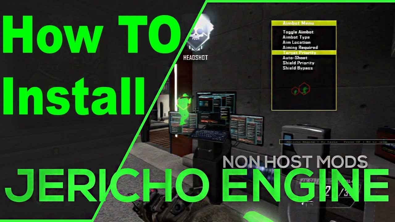 HOW TO INSTALL Black Ops 2 Mod Menu JerichoEngine [ CFW PS3 ] + Download