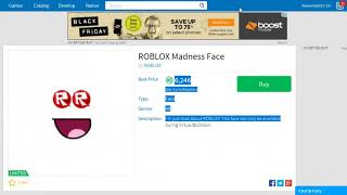 ROBLOX Madness Face - My First Video