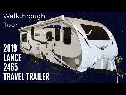 2019 Lance 2465 Travel Trailer Walkthrough With Princess Craft RV