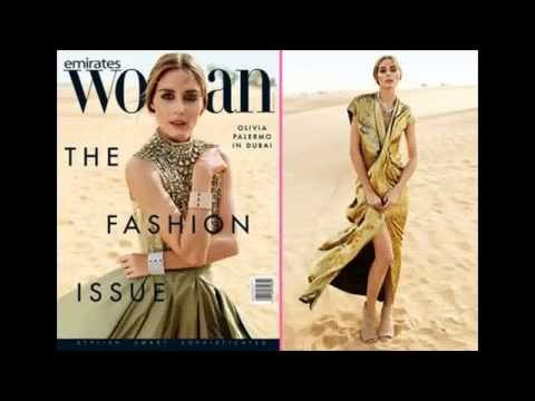Olivia Palermo Fronts March 2015 Issue of Emirates Woman Magazine
