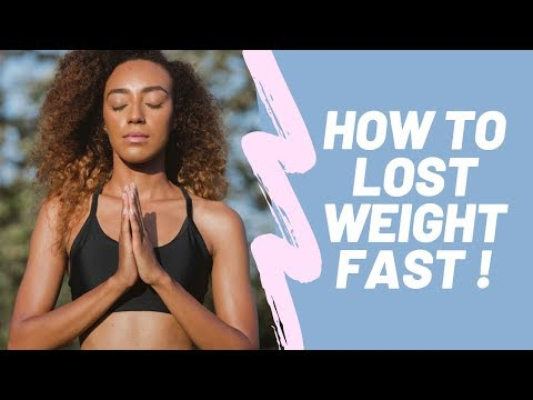 How to lose weight FAST & KEEP it off!