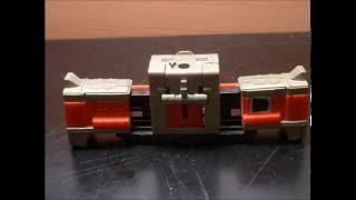 トランスフォーマー カエン トレインボット 解体 ライデン コマ撮り Transformers KAEN Demolition