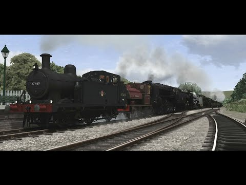 Thumbnail: Train Simulator 2017 - British Steam Locomotive Parade