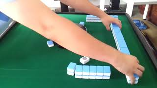 So funktioniert ein elektrischer mahjong tisch😱|This is how an electric Mahjong table works😱