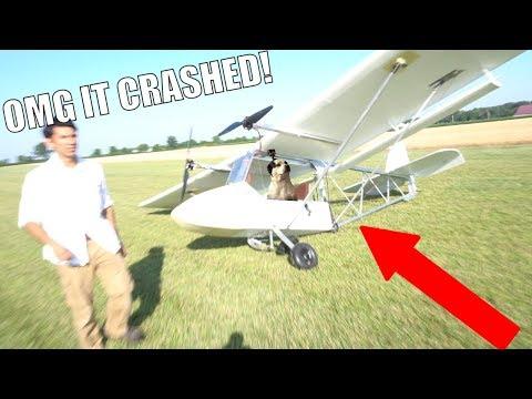 DIY airplane Mk2 (I crashed it!) pt3