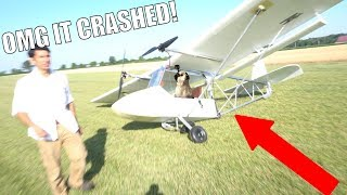 DIY airplane Mk2 (I crashed it!) pt3