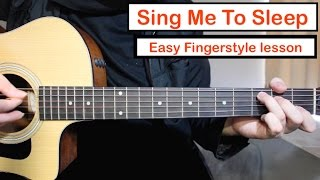 Alan Walker - Sing Me To Sleep | Guitar Lesson Fingerstyle Tutorial