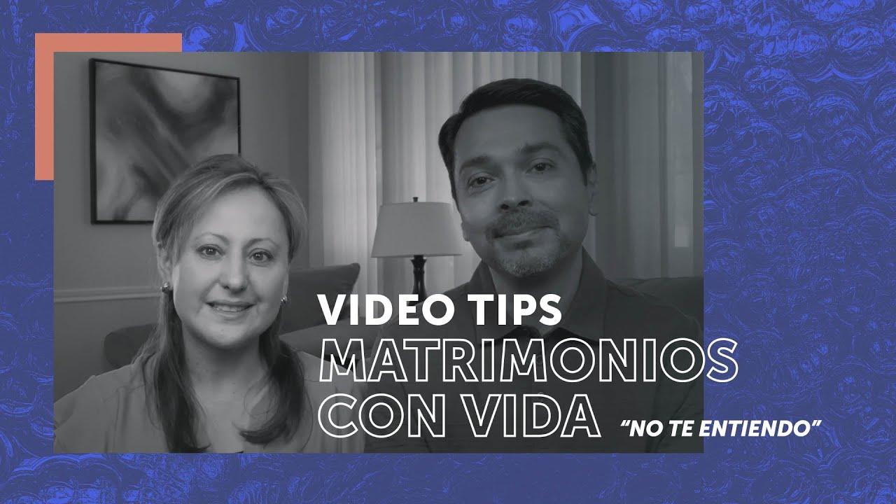 No te entiendo | Video Tip para matrimonios | Randall y Alexandra González