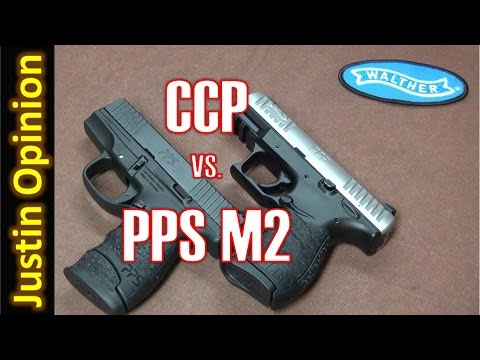 Walther CCP vs PPS M2