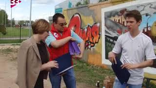 Граффити «Наша Победа» в городе воинской славы