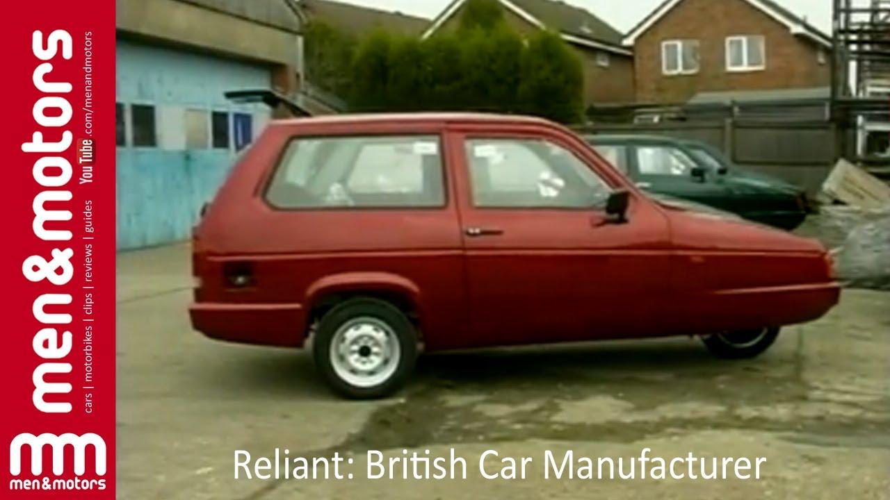 Reliant: British Car Manufacturer - YouTube