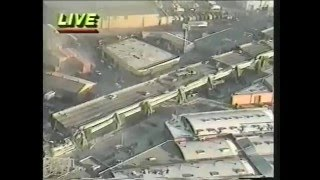 Rare police footage of San Francisco's Oct 17 1989 earthquake aftermath part 2 of 2