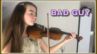 BAD GUY - BİLLİE EİLİSH / Violin cover / Keman