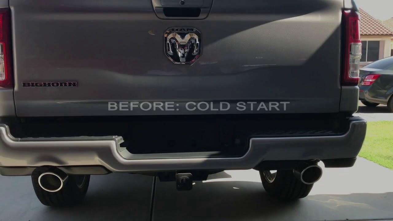 2020 ram 1500 mopar intake and exhaust