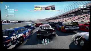 Nascar the Game 2013 (256GB) Surface Pro 2 - 1080p Low settings Review (5 Wide Racing)
