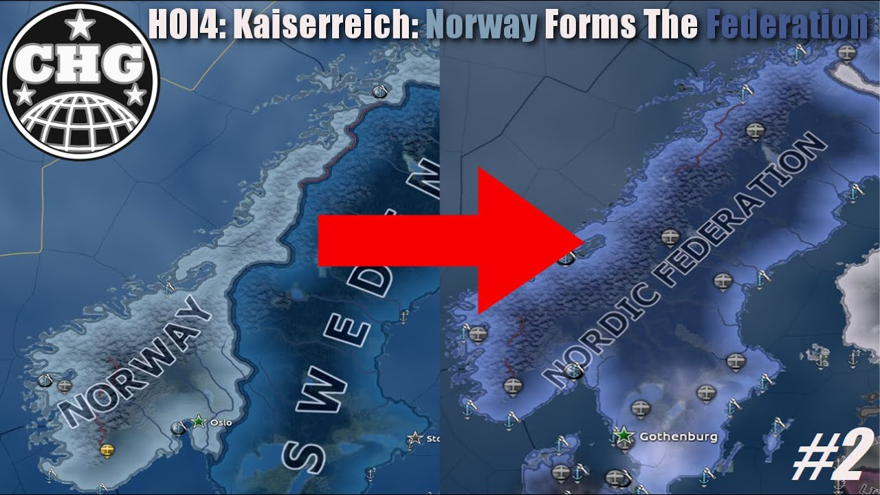 HOI4: Kaiserreich - Norway #2 - New Administration - Ecowas Ccc