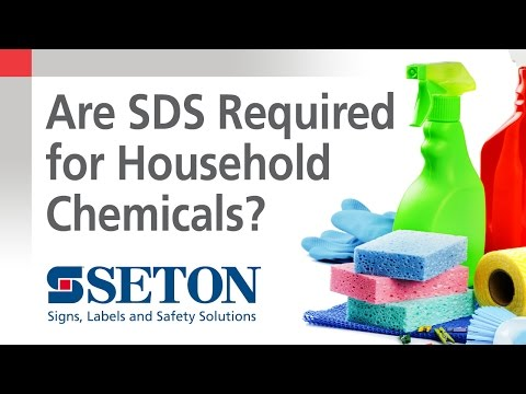 How to Know When You Need SDS for Household Chemicals | Seton Video