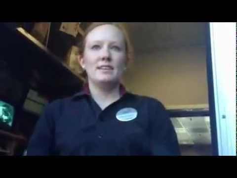 Chick-Fil-A Employee Harrassed By Giant BoucheDag.flv