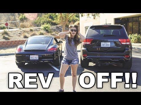 REV-OFF! Straight-piped SRT8 vs. LOUD Porsche