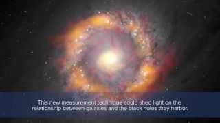 One Big Black Hole - 140 Million Times Our Sun's Mass! | Video