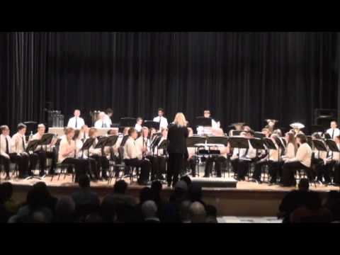 Superior Middle School 8th Grade Spring Band 2016