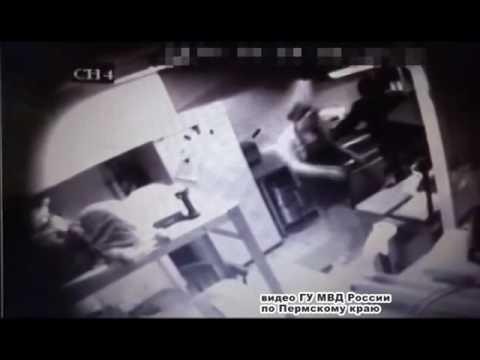 Разбойное нападение на кафе в Перми