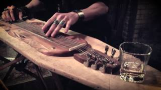 THE PARTING GLASS | Ironing Board Lap Steel Guitar Solo