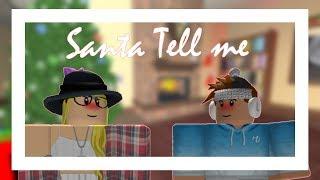 Santa Tell Me (Roblox Music Video)